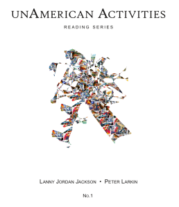 unamerican activities 1 - lanny jordan jackson and peter larkin
